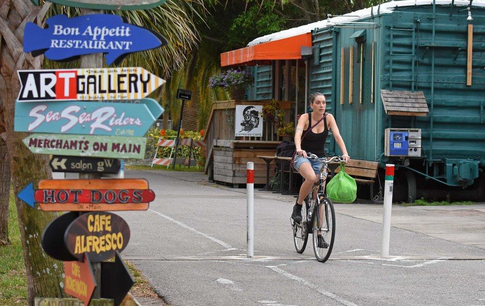 Dunedin Designated as Florida's First Trail Town - Dunedin has long been a mecca...