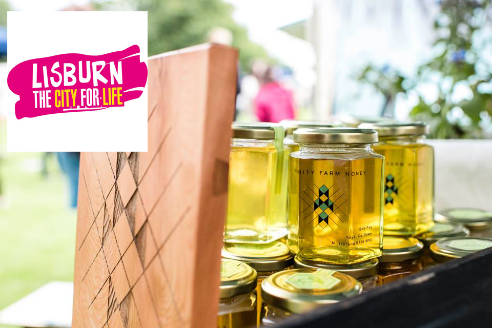Moira Speciality Food Fair - Saturday 18th August, Moira Demesne, 10 -6pmOne of the new features at this years Moira Food is the 'Beehive' zone, dedicated to all things to do with bees, led by Urban Beekeepers, Infinity Farm and Master Beekeeper, Bob Foy from The Killinchy Beekeepers Association. The time-table of events in the 'Beehive' zone are as follows:🍯 Honey Tasting with Infinity Farm 🍯 Honey Tasting Session 1: 10:30am -11:30am Honey Tasting Session 2: 12.30pm - 1.30pm[*Maximum of 20 people at each Honey Tasting event*]🐝Beekeeping with Bob Foy - hear about the joys of beekeeping and how to get started: 11.45am -12:15pm🐝Make Beeswax Wrap with Infinity Farm: Drop in to have a go between 2pm - 4pm.🐝Observational Beehive🐝10:00am - 4pm