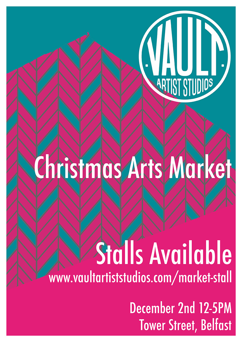 Local East Belfast Honey for sale at the Vault Christmas Market -