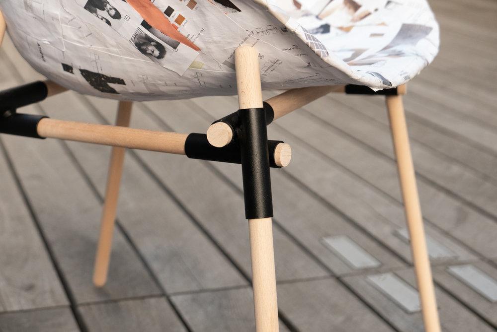 Chaise 100 Papier Studio Pourquoi Pas