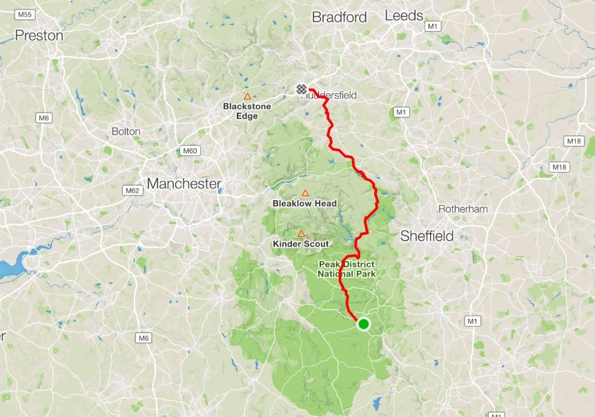 """Day 8 - """"…enjoyable…when you don't let them dominate you!""""Shortish ride, 75 km, but with lots of brutal climbs!Distance: 75.1 km Moving time: 4:43:27 Ave Speed: 15.9 km/h"""