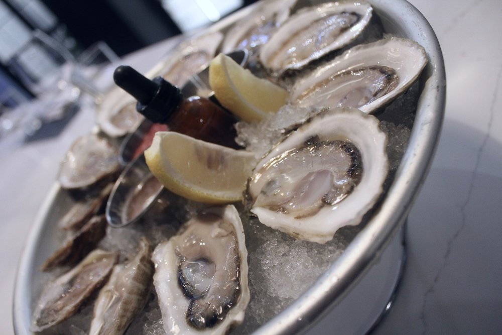Half Price Oysters - Join us at the bar for Happy HourHalf Price Oysters & Discounted DrinksTuesday through Friday4:30pm - 6:00pm