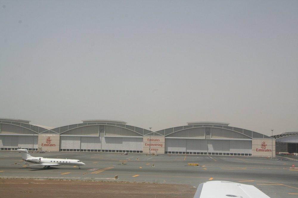 Dubai International Terminal. Lots of cool hangars.