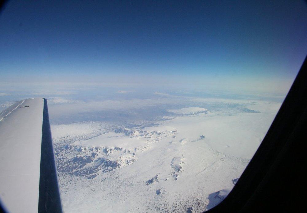 The Icelandic glacier