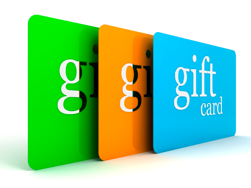 Gifts in Kind / Non-Cash Gifts - Items needed on a regular basis are gift cards, gas cards, tickets to amusement parks, movies, events