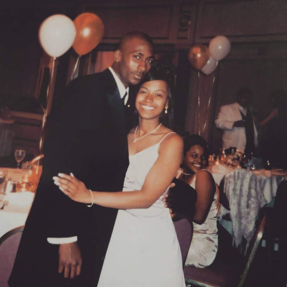 Prom circa 1998 (fyi he wasn't my date)