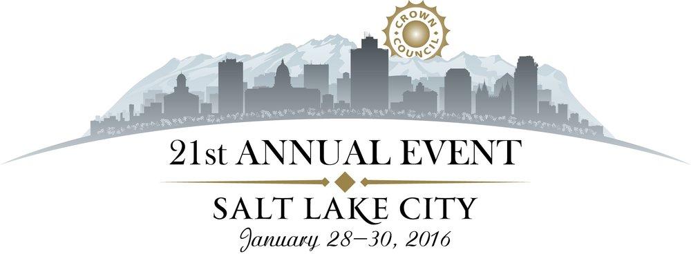 2016 - The 21st Annual Event - Salt Lake City