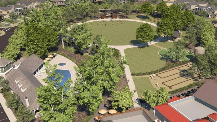 The Park Circle Development Project ( Rendering courtesy of the County of San Diego )
