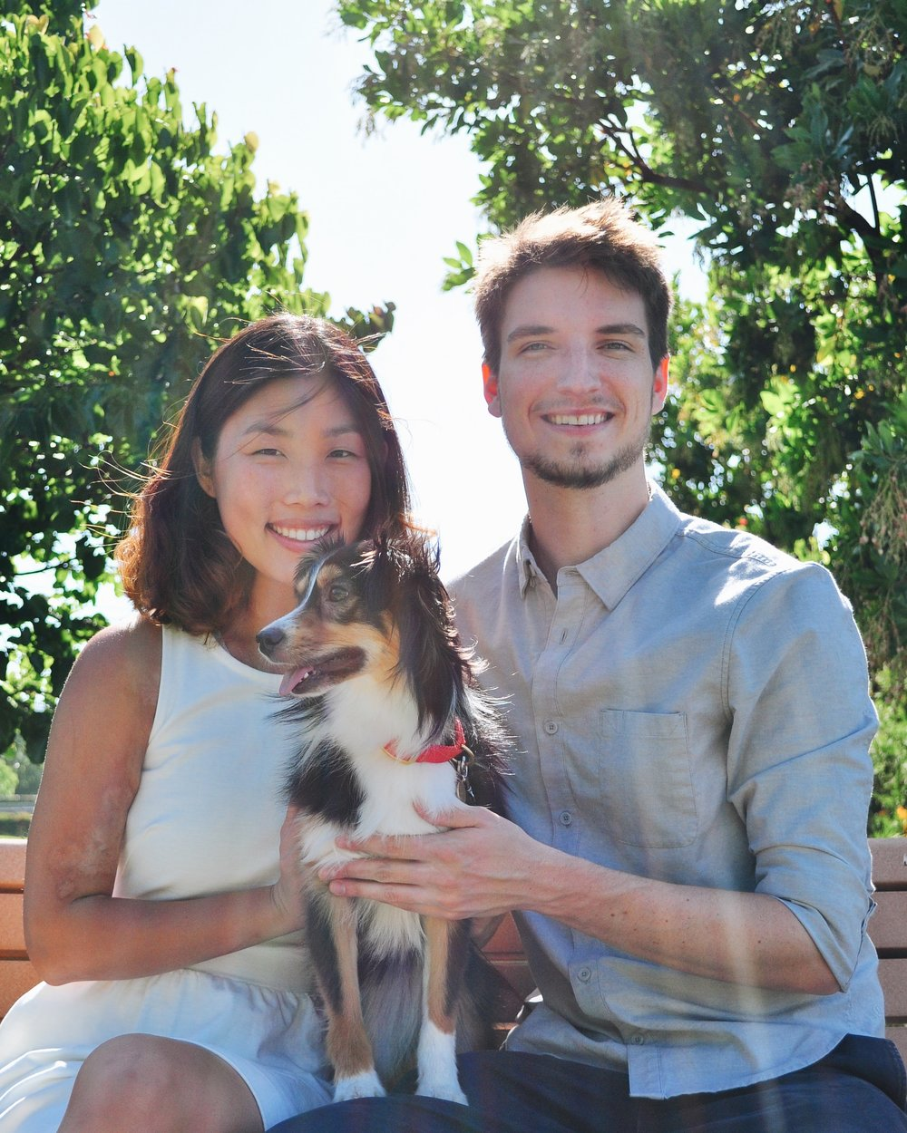 CUPERTINO, CA2015 - With the addition of Mia, a Toy Australian Shepherd, we began establishing our small family in the Bay Area.