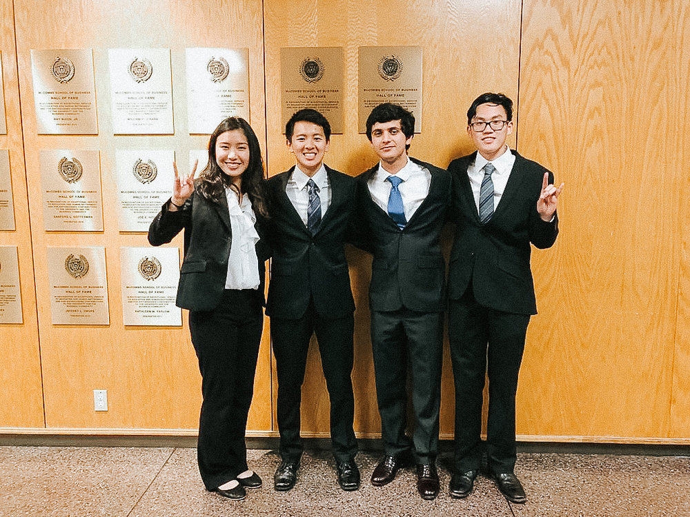 2018 McCombs Spring Case Competition
