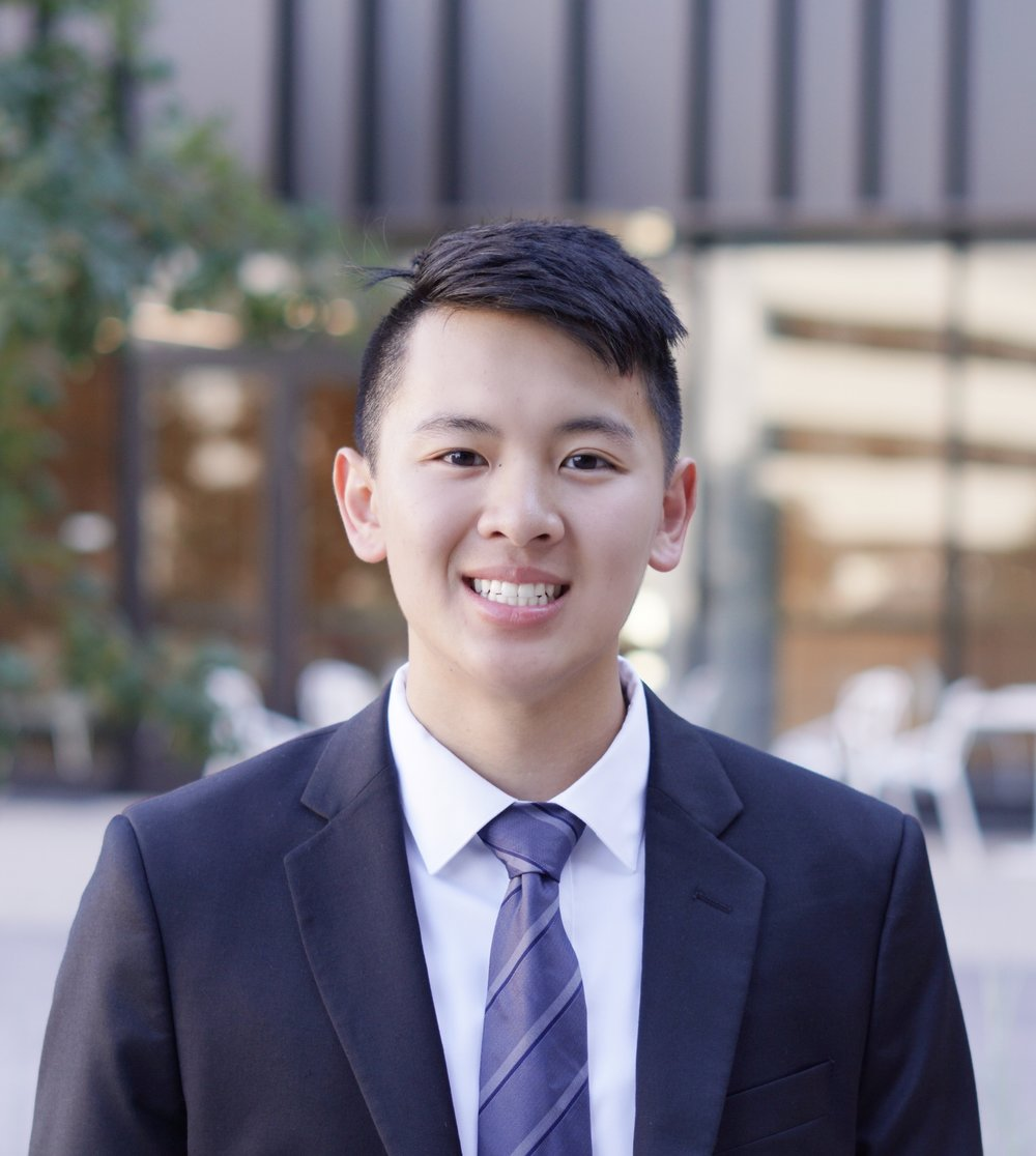 Ethan Ha   Pearland, TX Finance Class of 2020  Ethan is a junior majoring in Finance along with a Pre-Health certificate. This past summer Ethan took classes at UT Austin and spent a lot of his free time volunteering. Ethan's current goals are to attend medical school and improve at Super Smash Bros. His passions include volleyball, board games, and organic chemistry.