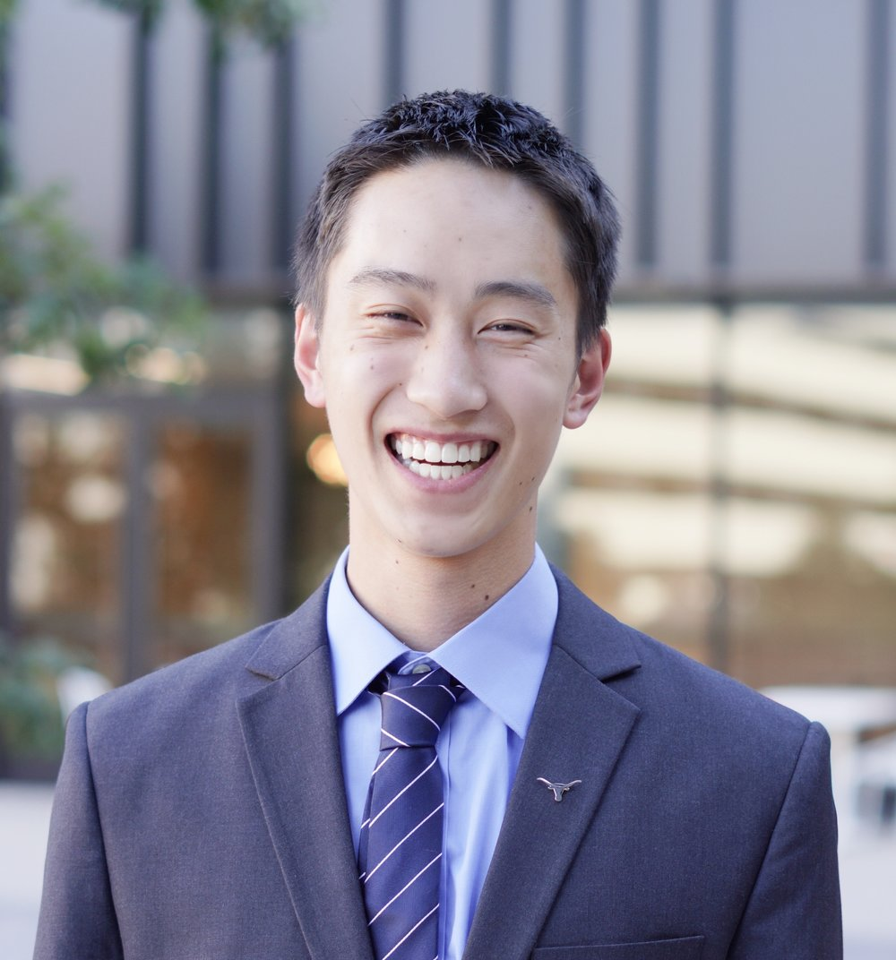 Tom Yan   Boston, MA Finance Class of 2020  Tom is a junior Finance major. He's currently working at Quake Capital, a venture capital firm in Austin. Next summer, he will be joining JP Morgan as a summer analyst in San Francisco. In his spare time, Tom enjoys running, playing Frisbee, reading, and discovering new music on Spotify.