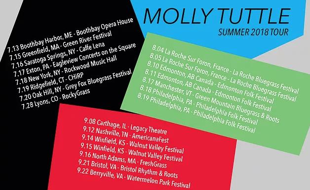 Summer Tour Dates | Molly Tuttle
