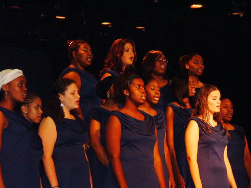 Dekalb School of the Arts - As an 8th grader, I had a sense of ambition and self-assurance. I remember approaching my mom and telling her I was interested in attending a performing arts school, and that I'd already contacted them and set up an audition. At a very young age I understood the importance of getting it done myself and going after what I wanted in life. I entered into the DSA Culture as a 9th grader in a graduation class of 44 and a total 8-12th grade body of 250 students.DeKalb School of the Arts was my first view of life through my lens of purpose. Being in that environment cultivated my creativity and was the foundation of my entire career. It was such a unique learning environment filled with some of the most talented people I've ever met.