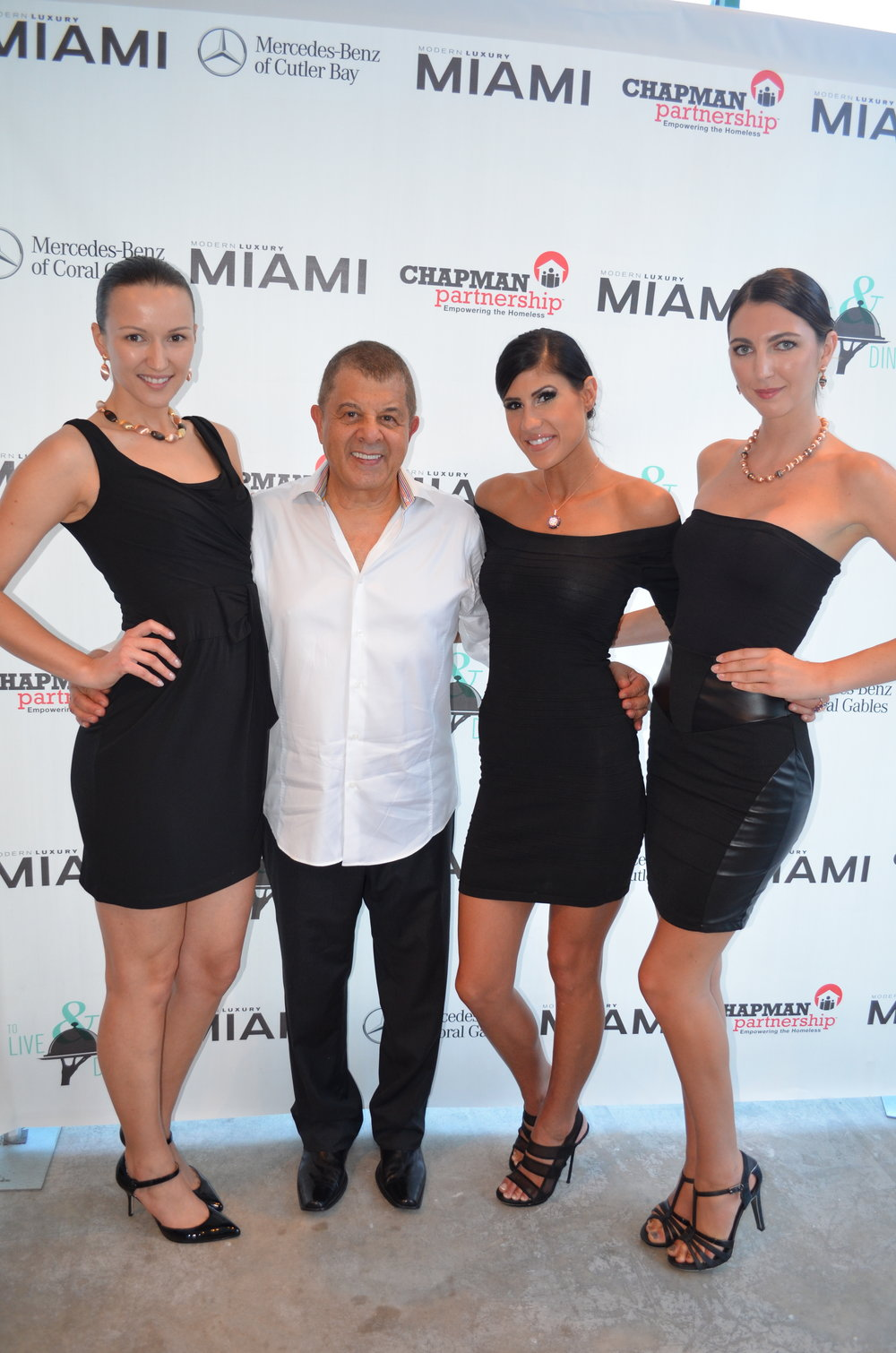 Joseph Aviv and Models
