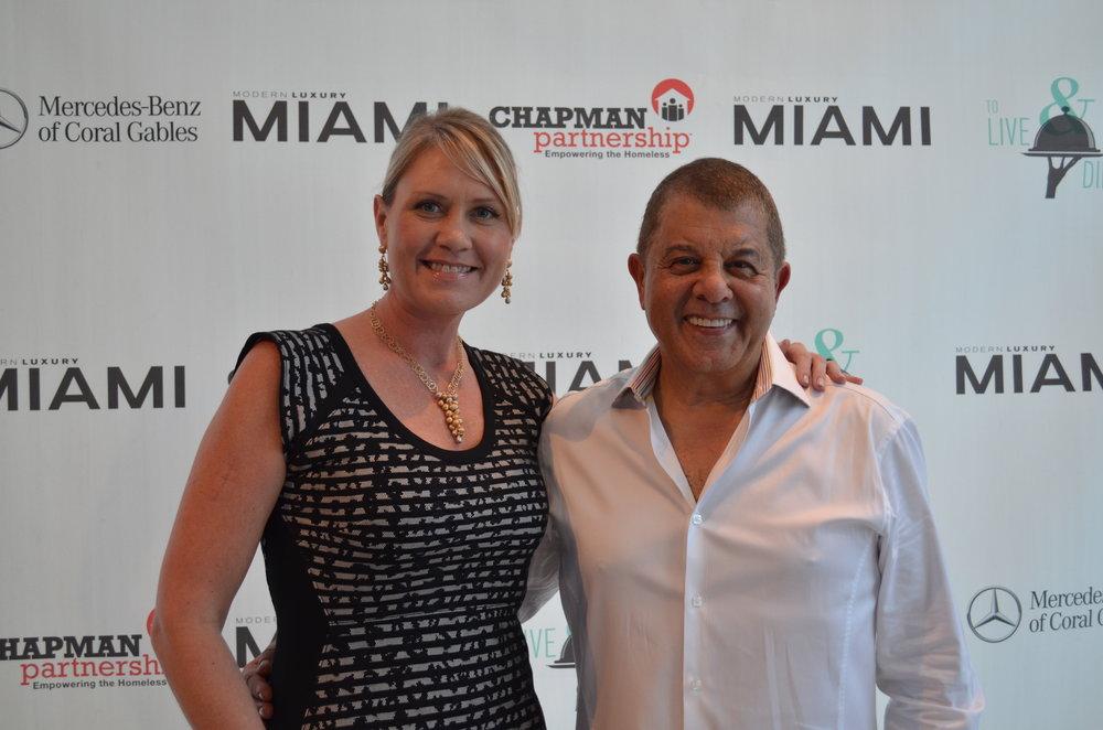 Joseph Aviv & Editor of Modern Luxury Miami