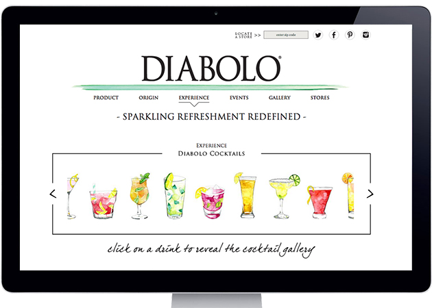 emily anderson illustration diabolo cocktails