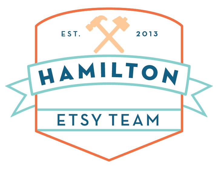 Hamilton Etsy Team logo designed by  Ashley Giudice  from  Tayne and Ashley