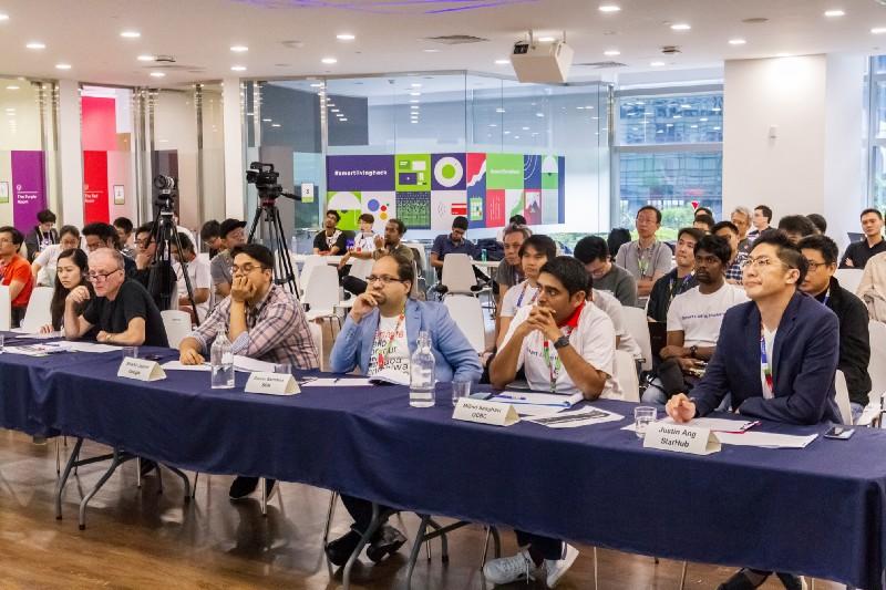 The Judging Panel (R-L): Justin Ang, Milind Sanghavi, Gaurav Sachdeva, and Shishir Jayant