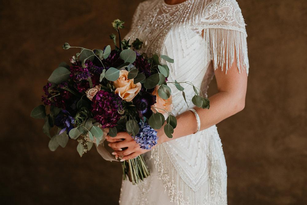 Backyard Las Vegas Wedding - Bride