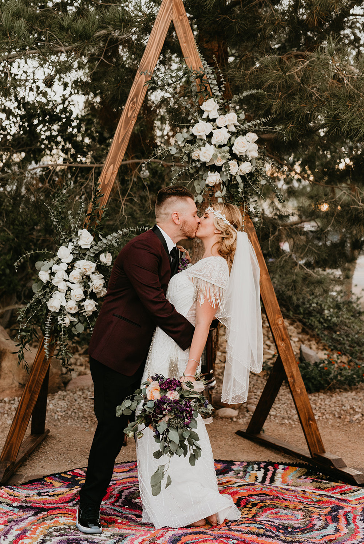 Backyard Las Vegas Wedding