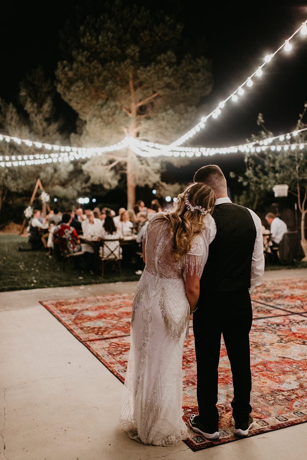 Backyard Las Vegas Wedding