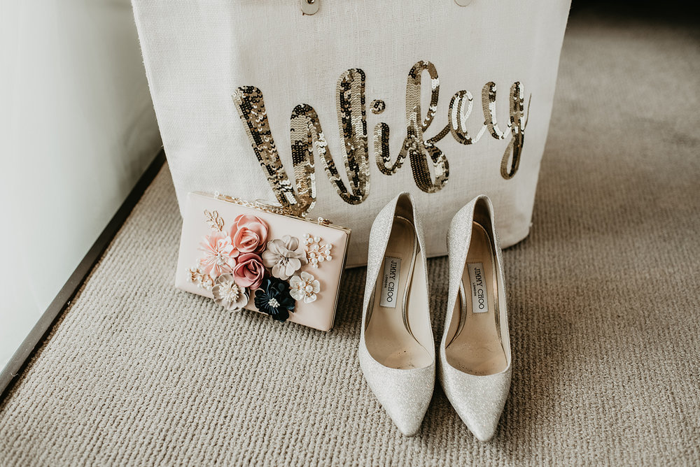 Fragoso Wedding in Las Vegas NV - Bridal Shoes