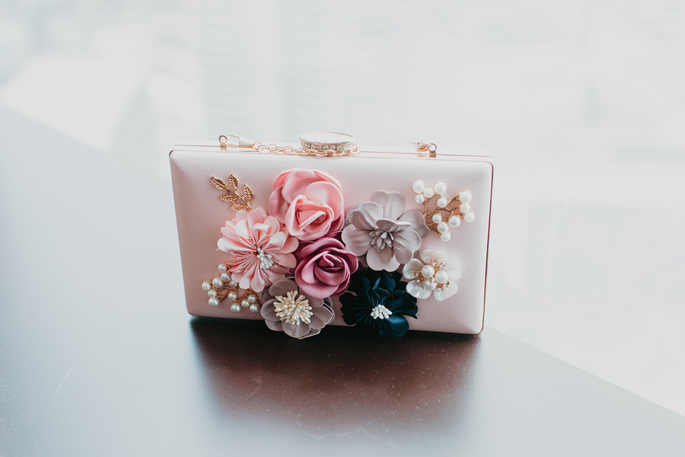 Fragoso Wedding in Las Vegas NV - Bride Clutch