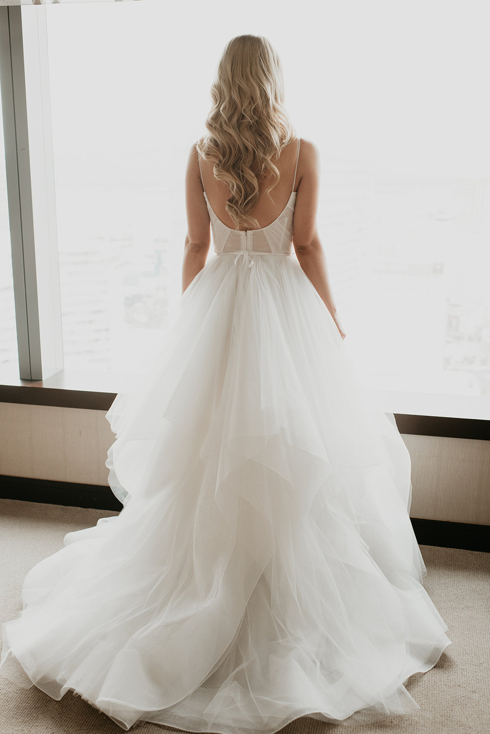 Fragoso Wedding in Las Vegas, NV - Back of the Dress