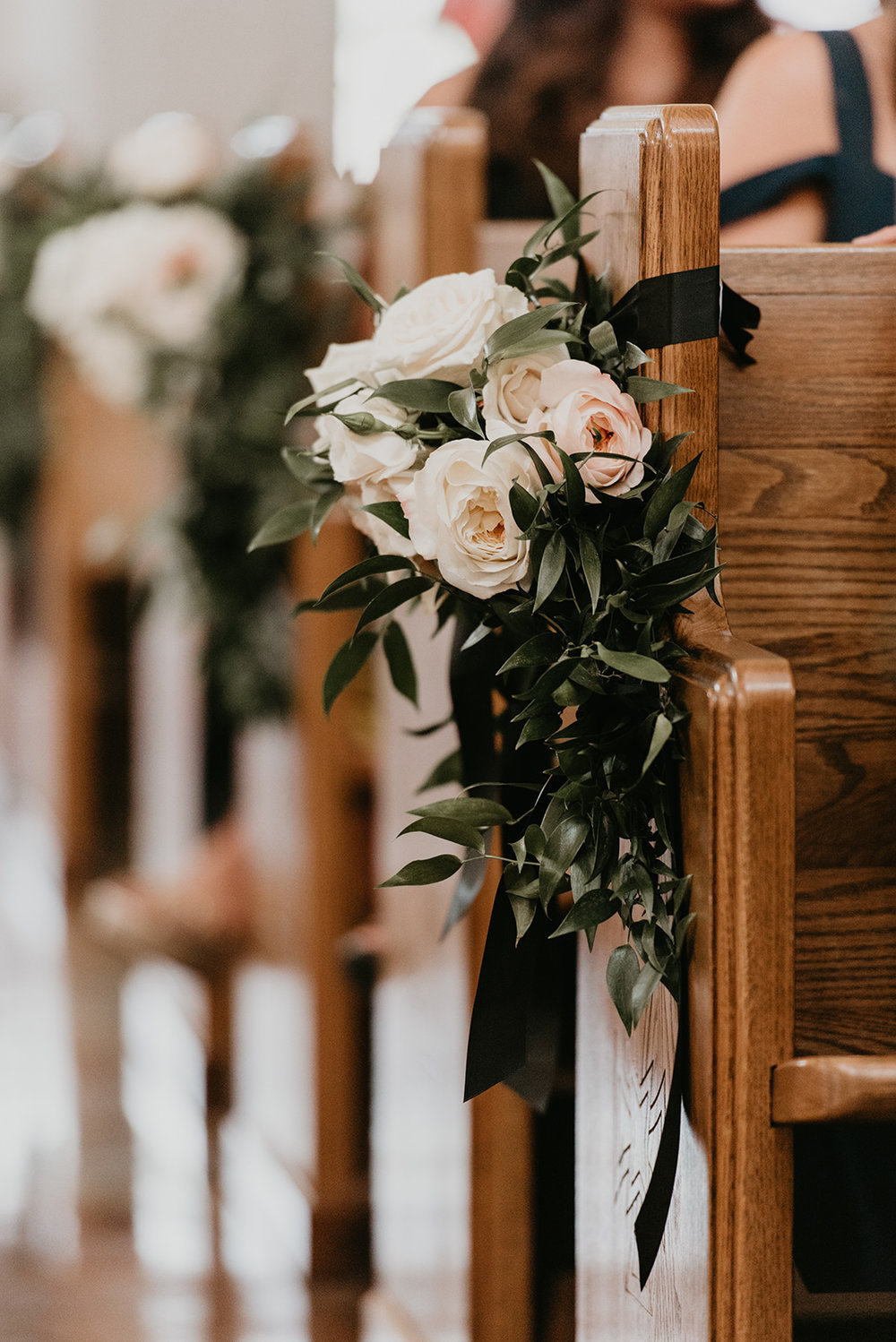 Fragoso Wedding in Las Vegas, NV - Church Flowers