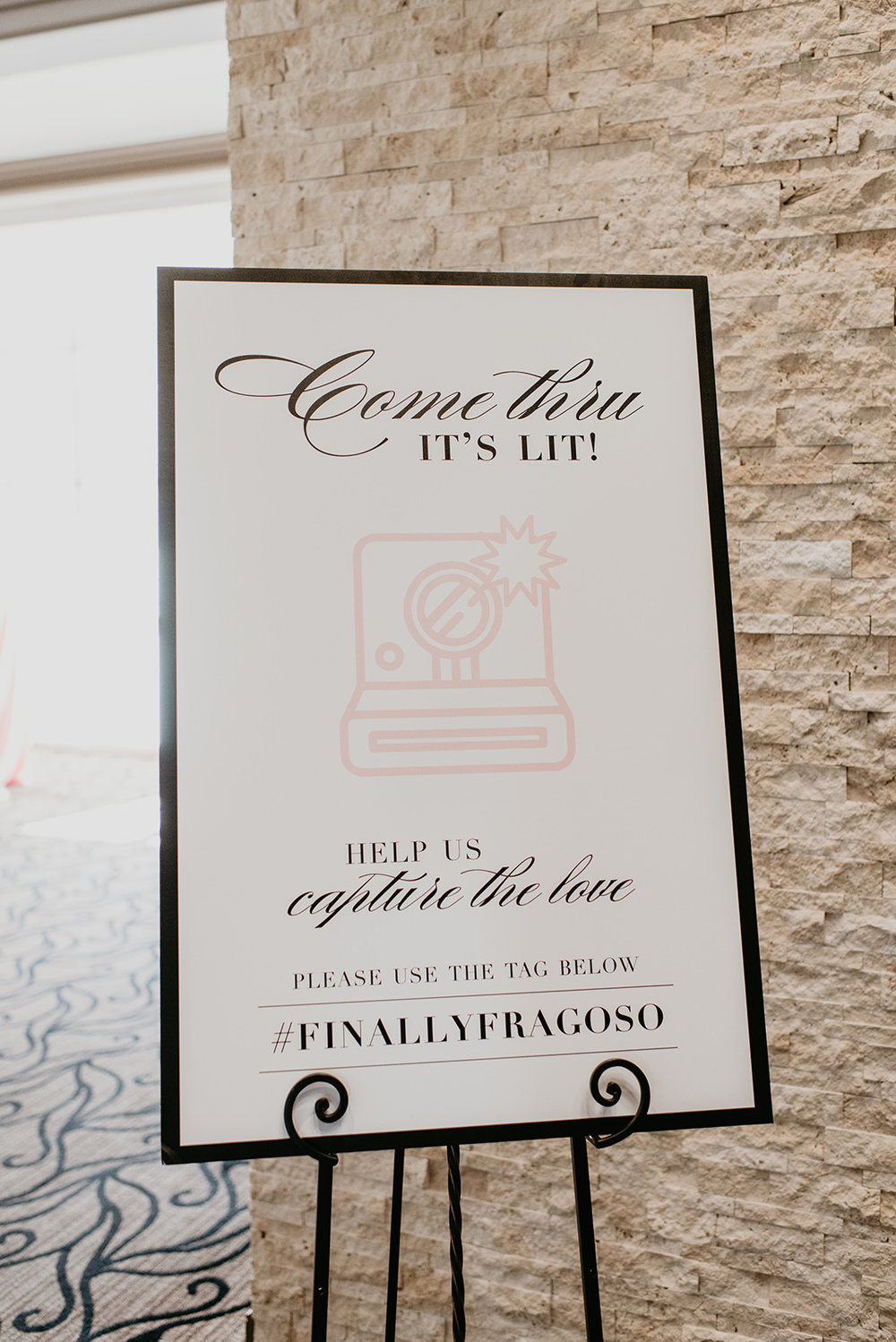 Fragoso Wedding in Las Vegas, NV - Sign