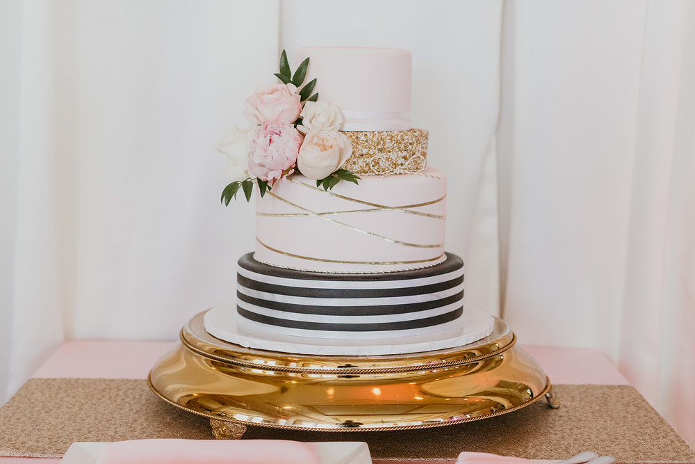 Fragoso Wedding in Las Vegas, NV - Wedding Cake