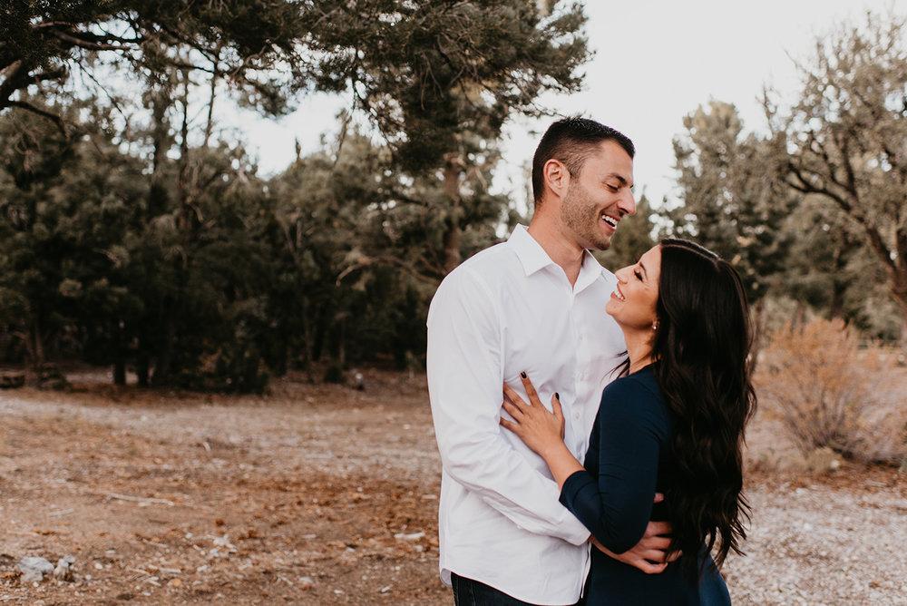 Couple Shoot In Mount Charleston