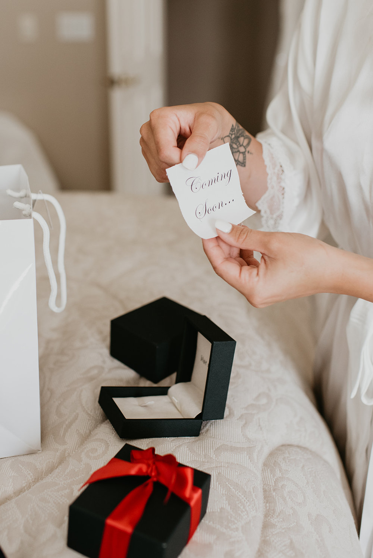 Thompson Wedding in Seattle, Washington - Bridal Gifts