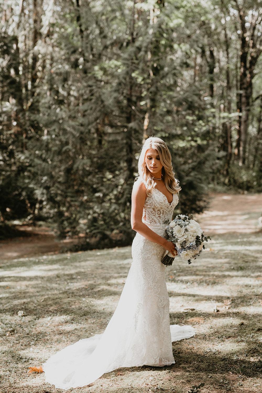 Thompson Wedding in Seattle, Washington - Bride