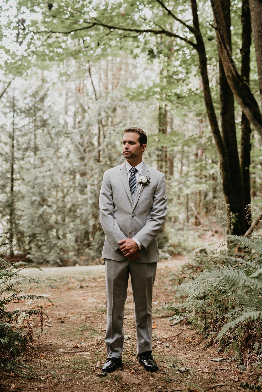 Thompson Wedding in Seattle, Washington - Groom