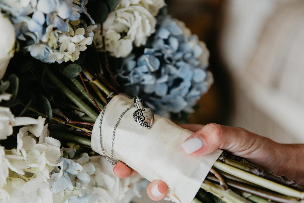 Thompson Wedding in Seattle, Washington - Bridal Flowers