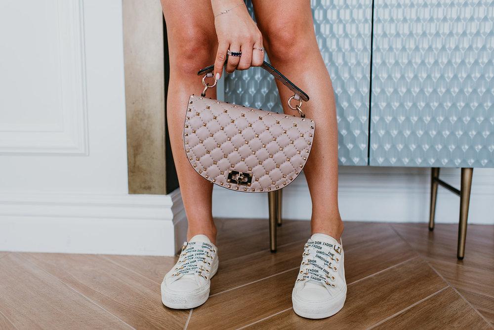 Wilson Gabrielle Branding Shoot at Palms Resort - Dior Sneakeres