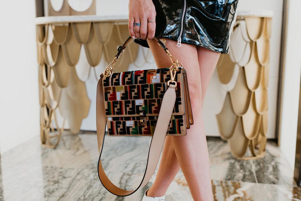 Wilson Gabrielle Branding Shoot at Palms Resort - Fendi Bag