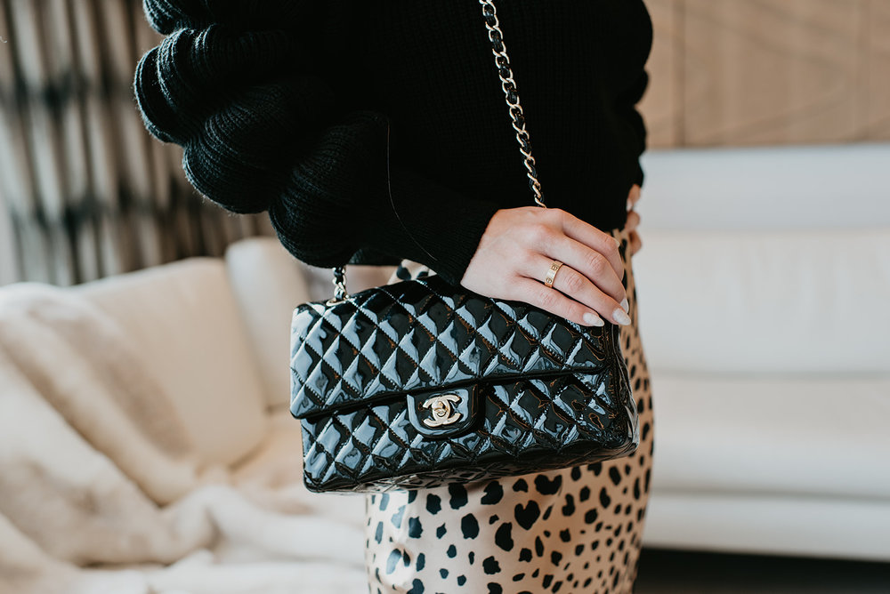 Wilson Gabrielle Branding Shoot at Palms Resort - Chanel Bag