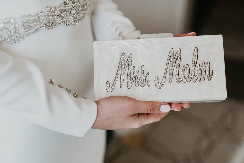 Malm Wedding in Las Vegas, NV #BrideClutch
