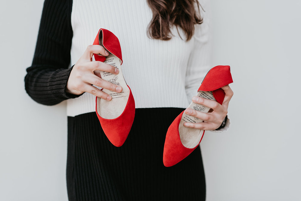 Rollasole Branding Shoot - Foldable Shoes