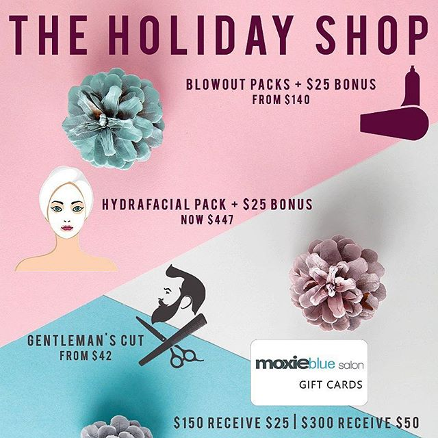Tis the Season to Make them Moxie!  The Moxie Blue Holiday Shop is OPEN. This year you can purchase Moxie Favs at our Moxie Blue locations and online. . . . #Holiday #Christmas #merrychristmas #gift #giftforher #fyiphilly #goldwell #hydrafacial #blowout #iamgoldwell #historicphilly #myoldcityphilly #giftbox #giftideas #uniquegifts #whyilovephilly #Davines #savephilly #uwishunu #Phillypulse #discoverphl #lovepark #shop #shoplocal #oldcityphilly #moxiebabes #phillystyle #madeinphilly #philly #marlton