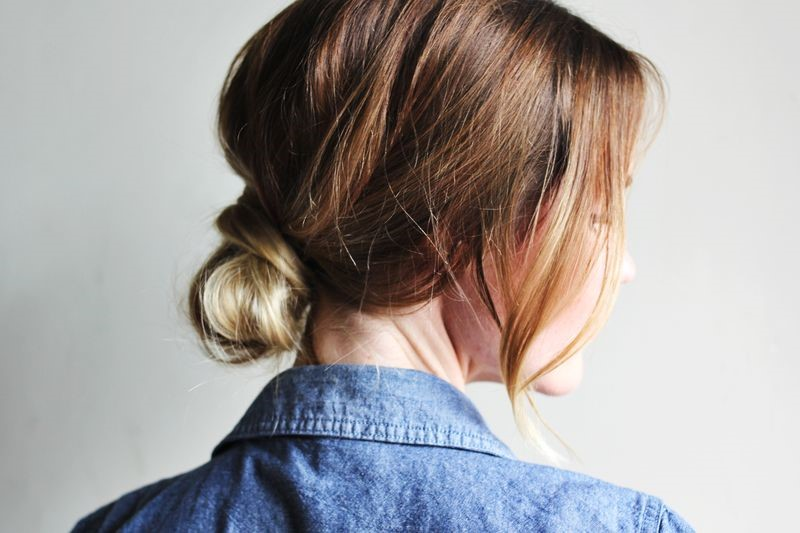 4.The Anti-Updo - If you're looking for a classic, clean, and cute style but don't want to embody prom night glam, go with a low, loose, and trouble-free bun.