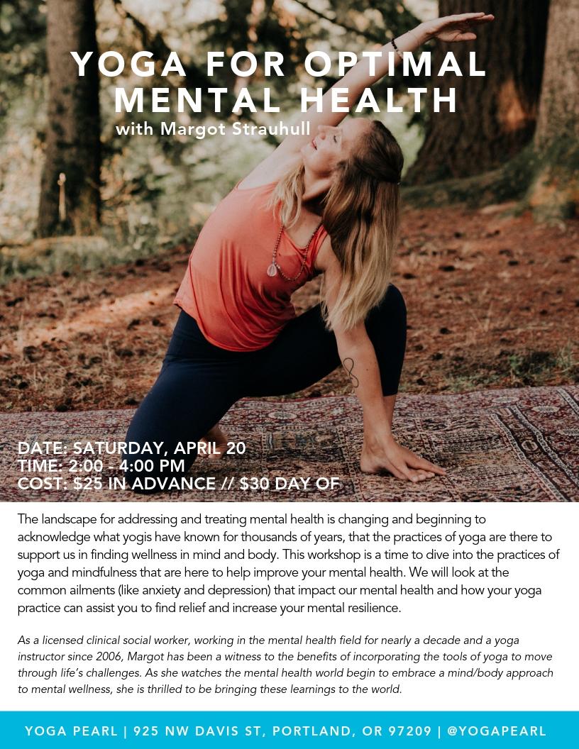 Yoga For Optimal Heath