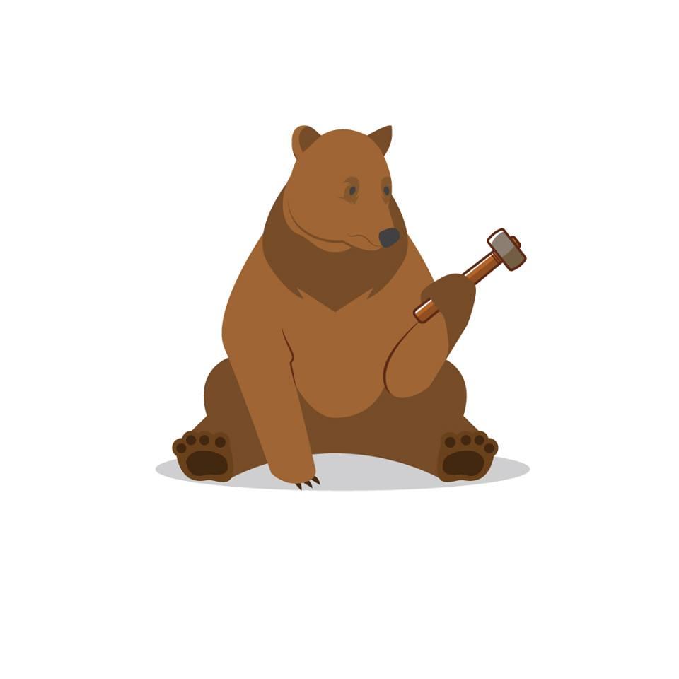 build a bear bear branded