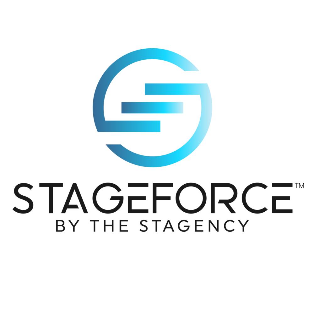 stageforce logo bear branded