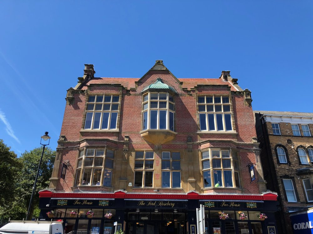 The Lord Rosebery, restored frontage