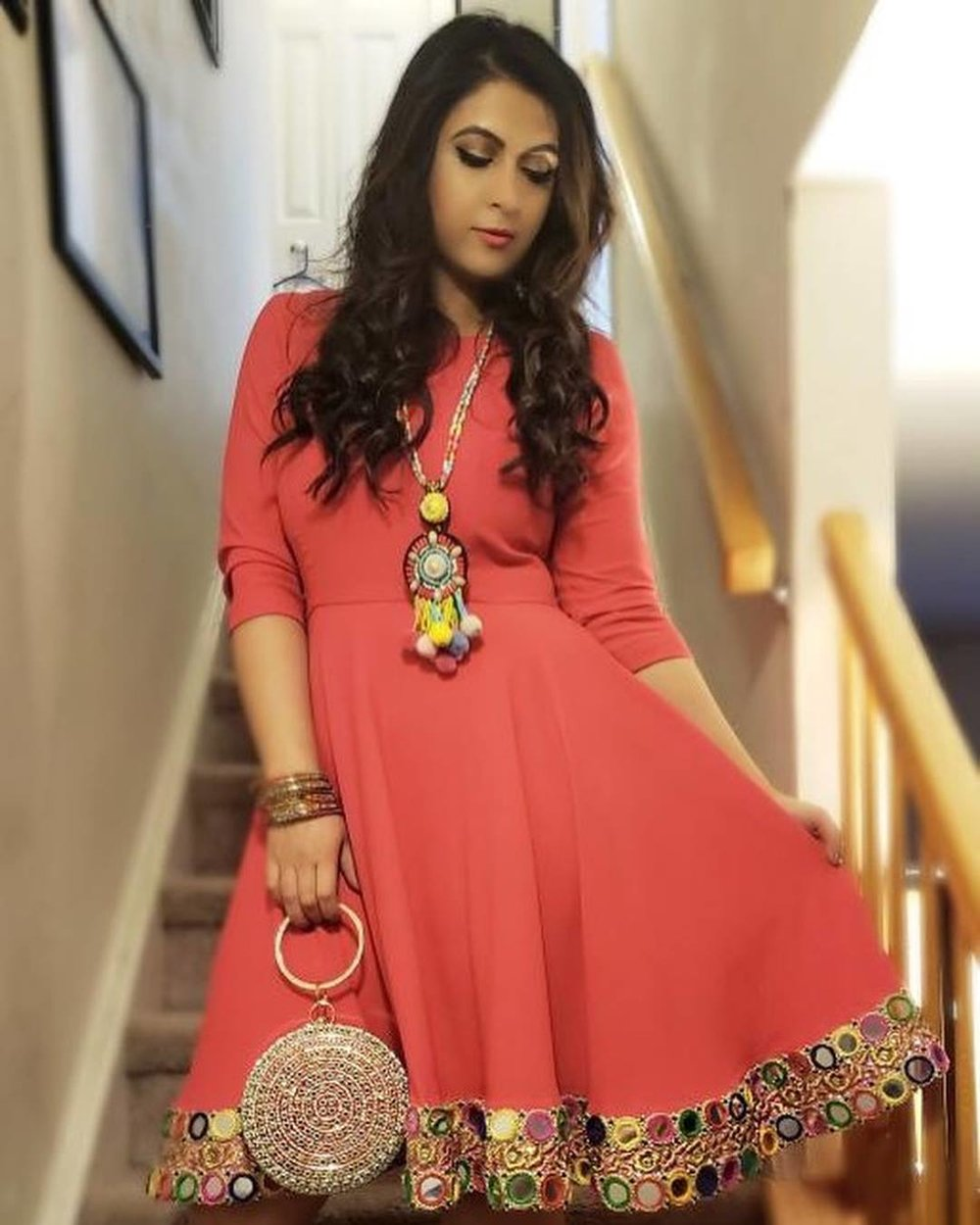 """""""I have bought 3 dresses from naurah, I love each one of them. One of a kind designs, perfect fit and great customer service. Can't wait to buy some more"""" - Ghina Noor"""