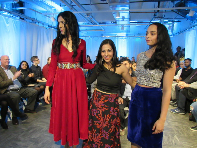 """FYID held an """"International Fashion Show"""" event to bring together seven designers from different cultures to present their designs to the public. (Reporter Yan Jiaying / Photography)"""